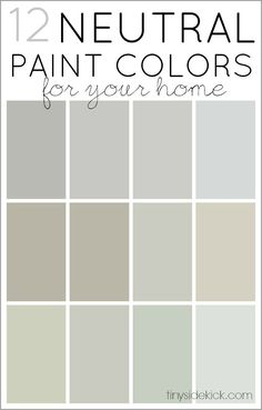 How To Choose Neutral Paint Colors 12 Perfect Neutrals Awesome Explanation On The Right Color Of