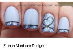 Very cute nail design idea