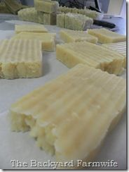 Coconut Oil Crock pot soap recipe - like this one!