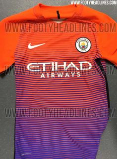 f20c0a68c Manchester City 16-17 Third Kit Leaked - Footy Headlines Soccer Kits