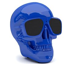 JARRE  AeroSkull XS  Portable Wireless Speaker - Blue, Blue Price: £ 199.00 Top features: - A unique and portable speaker you can take anywhere - Listen for up to 10 hours with a rechargeable battery - Hear music stored on your smartphone using Bluetooth and NFC - Get CD-like quality wirelessly thanks to aptX technology A unique design A unique skull design stands out in any living space, or...