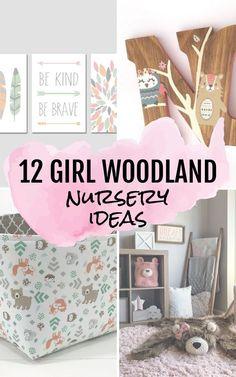 13 Baby Woodland Nursery Decor Ideas for Girls and Boys