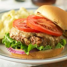 Best-Ever Grilled Burgers