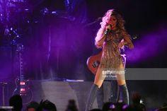 Singer Gloria Trevi performs on stage at Arena Ciudad de Mexico on June 22, 2017 in Mexico City, Mexico
