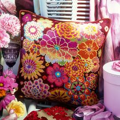 Fire Flowers - Ehrman Tapestry