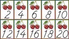 İkişer Ritmik Sayma Pano Çalışması - İlkokul Dökümanları