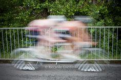 Paratriathlon competition: tandem cycling leg.