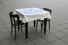 Hairy Tablecloth <3 it!