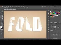 How to Create a Folded Paper Effect in Adobe Illustrator – Olive Blossom Designs Graphic Design Lessons, Graphic Design Tutorials, Graphic Design Art, Graphic Design Illustration, Graphic Design Inspiration, Graphic Design Projects, Graphic Design Typography, Adobe Illustrator Tutorials, Photoshop Illustrator