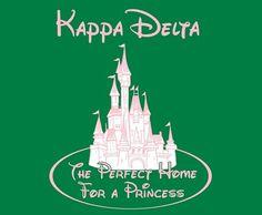Kappa Delta and Disney <3 perfect