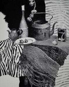 Просмотреть иллюстрацию Натюрморт из сообщества русскоязычных художников автора Виктория Бодрова в стилях: Академический рисунок, графика, живопись, Графика, Декоративный, нарисованная техниками: Графика, Эстамп. Composition Art, Black And White Artwork, Botanical Drawings, Gravure, Tribal Art, Figurative Art, Portraits, Painting & Drawing, Sculpture Art