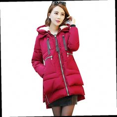 dc2defec50284 Women Military Winter Jacket Latest Fashion Hooded Down jacket Thick Warm  Cotton Coat Loose Large size Ladies Outerwear