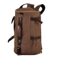 be975d8d1d2b 2017 New Arrival Man Cylinder package Multifunction Rusksack Male Fashion  Backpack High Capacity Travel Bag B021