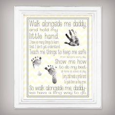 Camina conmigo papi  11 x 14 Art Print  personalizar con por buhbay