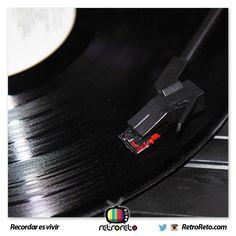Somos la generacióm que escuchó música en LP RetroReto.com