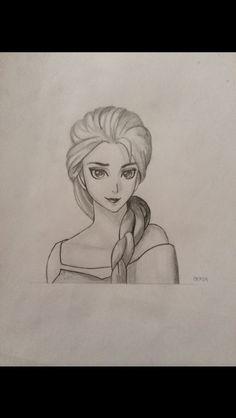 Elsa from Frozen, 1 hour.
