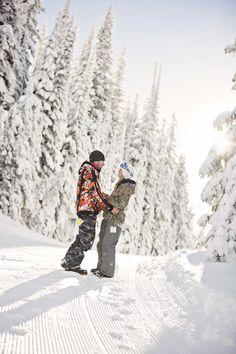 Secret Proposal   Surprise   Winter Engagement Photography   Snowboarding   British columbia   Vernon