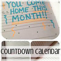 Deployment Gift Ideas: Countdown Calendar  // Love From Home