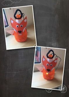 Laterne aus leerer Spüli-Flasche gebastelt. Süßer Fuchs Halloween Illustration, Halloween Cakes, Halloween Diy, Fuchs Illustration, Diy And Crafts, Crafts For Kids, Baby Got Back, Pet Bottle, Hacks Videos