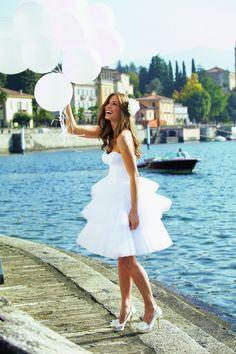 The Hottest Wedding Trend: 48 Awesome Short Wedding Dresses   Weddingomania