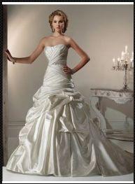 Robe de Mariée de nouveau modèle de 2013 A-ligne princesse wm0030