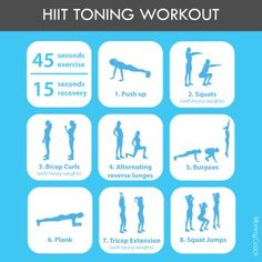simple HIIT workout
