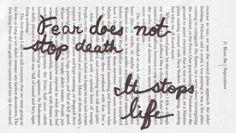 ♥ La peur