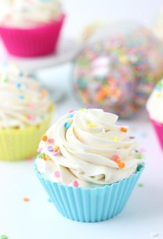 whipped vanilla bean frosting recipe.