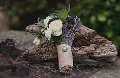 Lavender Bouquet, Sage and Lavender Wedding Bouquet