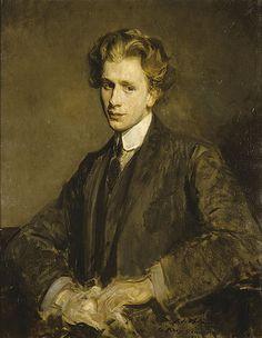 Portrait of Percy Grainger, 1906 // by jacques-Emile Blanche