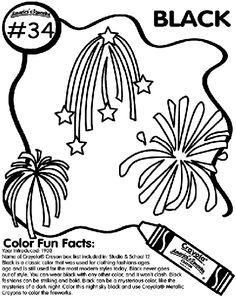 No.34 Black coloring page