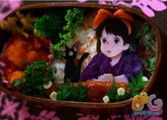 Kiki's Delivery Service (Stuidio Ghibli)- Wow, this a Bento Box. I wouldn't want to eat it. It's too pretty.