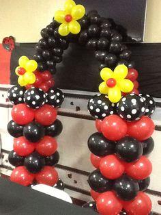 Resultado de imagen para decoracion en globos de ladybug