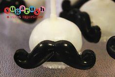 Mustache cake pops sugarush red bank