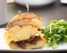 A Sumptuous Chorizo Sandwich to Start Your Day