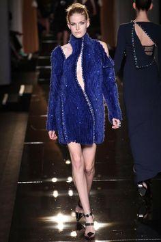 Atelier Versace   Fall/Winter 2013 Couture Collection via Donatella Versace   Modeled by Louise Parker   June 30, 2013; Paris   Style.com