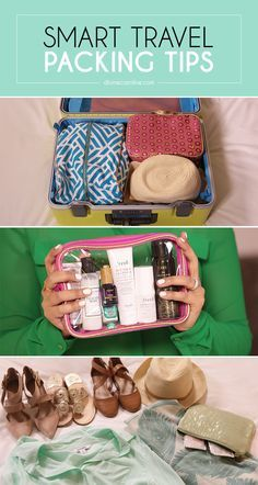 The smart girl's guide to packing like a pro. #PackingTips #Travel