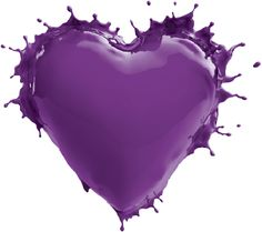 Valspar Love Your Color heart in Raspberry Sorbet Purple Love, Purple Lilac, All Things Purple, Shades Of Purple, Deep Purple, Purple Hearts, Purple Stuff, Magenta, My Favorite Color
