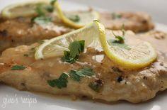 skinny taste's lightened chicken francese