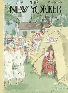 Helen E. Hokinson : Cover art for The New Yorker 1321 - 10 June 1950