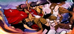 Smite - Brother and Sister rivalry by Zennore on DeviantArt