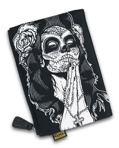 Liquor Brand DAMEN GIPSYROSE Kosmetiktasche.Tattoo,Biker,Pin Up,Rockabilly Style