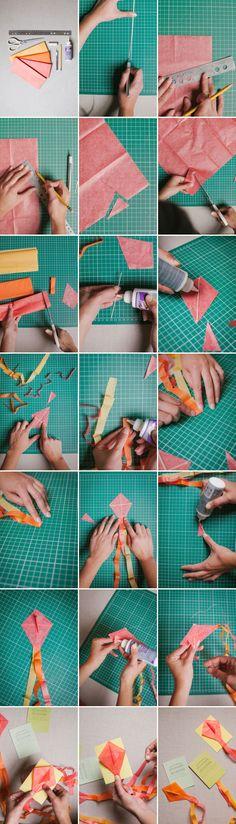 Mini Kite Invitations | Oh Happy Day!