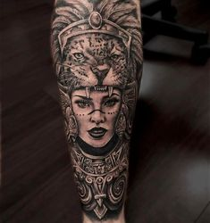 Popular Tattoo Ideas For Men Of The Century - Tats 'n' Rings - Aztec tattoo arm - Tattoos 3d, Mayan Tattoos, Mexican Art Tattoos, Chicano Tattoos, Body Art Tattoos, Tattoo Arm, Inca Tattoo, Indian Tattoos, Jaguar Tattoo