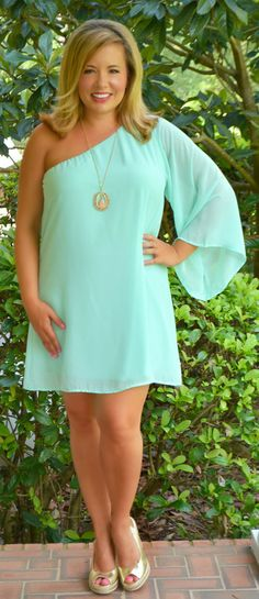 Never Forget You Dress - Mint - Perfectly Priscilla Boutique