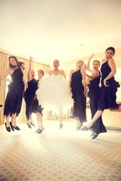 This is the kind of fun I want to have with my Bridesmaids