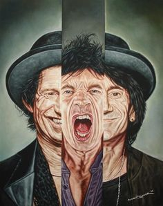 Mark Baker Ronnie Wood, Live Rock, Across The Universe, Keith Richards, Rolling Stones, The Beatles, Rock N Roll, Joker, Artist