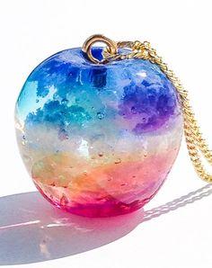 Kawaii Jewelry, Cute Jewelry, Diy Jewelry, Jewelery, Jewelry Accessories, Handmade Jewelry, Jewelry Making, Uv Resin, Resin Art
