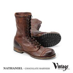 NATHANIEL - CHOCOLATE HARNESS