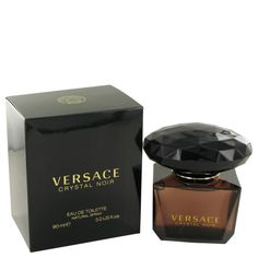 Crystal Noir By Versace Eau De Toilette Spray 3 Oz